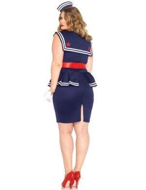 Aye Aye Amy Women's 1940's Sailor Costume - Plus Size