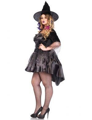 Black Magic Mistress Women's Plus Size Halloween Costume