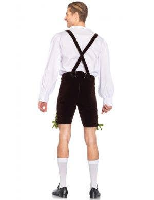German Lederhosen Oktoberfest Deluxe Men's Costume