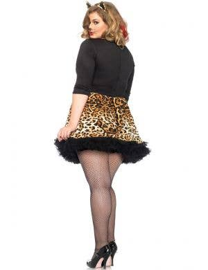Leopard Print Wildcat Sexy Plus Size Women's Costume