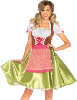 Darling Greta Beer Wench Deluxe Oktoberfest Costume