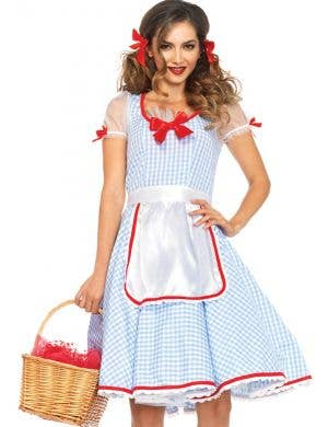 Kansas Sweetie Women's Deluxe Dorothy Costume