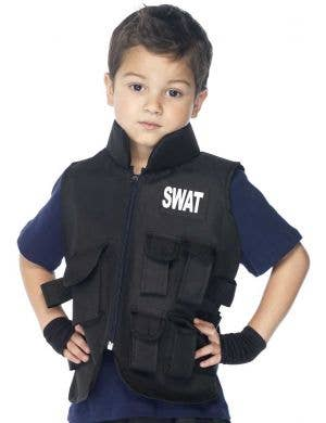 SWAT Officer Boys Fancy Dress Costume