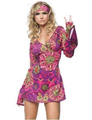 ... 1960u0027s Retro Go-Go Dancer Sexy Womenu0027s Costume  sc 1 st  Heaven Costumes & 1960u0027s and 1970u0027s Fancy Dress Costumes | Heaven Costumes Australia