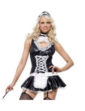 Naughty French Maid Sexy Women's Costume