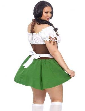 Beer Girl Gretchen Sexy Plus Size Oktoberfest Costume