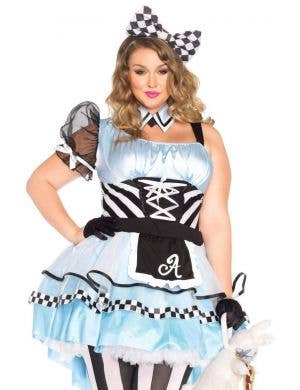 Psychedelic Alice Women's Plus Size Costume
