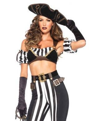 Black Beauty Pirate Sexy Women's Costume