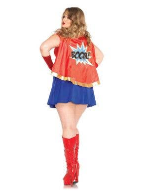 Comic Book Girl Sexy Plus Size Superhero Costume