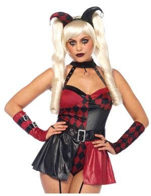 Deviant Darling Sexy Women's Harlequin Halloween Costume