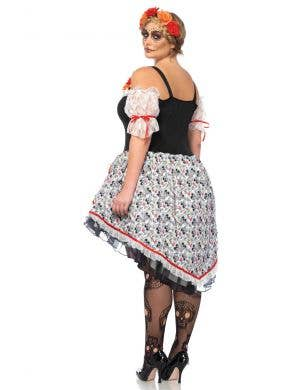 Sugar Skull Senorita Plus Size Women's Costume