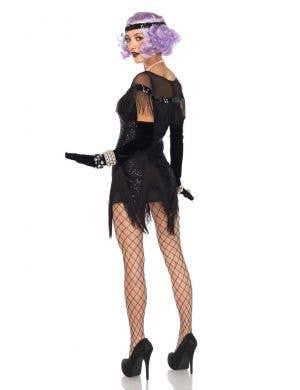 Foxtrot Flirt Black Sequined Women's 1920's Costume