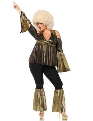 1970's Disco Diva Women's Plus Size Costume