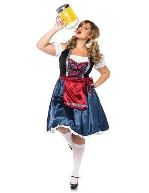 fe3f8e617c Deluxe Plus Size German Beer Girl Women s Costume Main Image Beerfest  Beauty Plus Size Women s Oktoberfest Costume