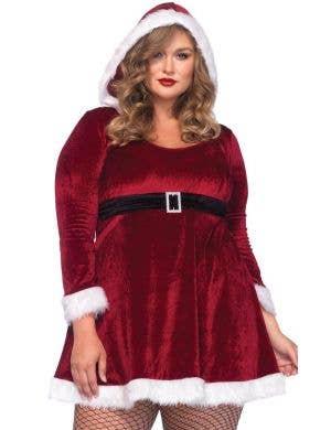 Sexy Santa Women's Plus Size Christmas Costume