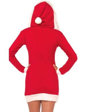 Cozy Santa Women's Hooded Christmas Costume Dress