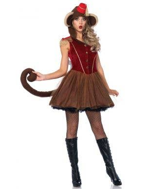 Wind Up Monkey Sexy Women's Costume