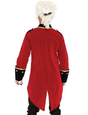 Regency Men's Red Velvet Gentlemans Costume Coat