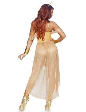 Sun Goddess Women's Gold Fancy Dress Costume