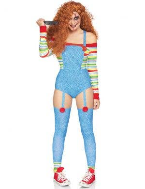 Killer Doll Women's Sexy Chucky Halloween Costume