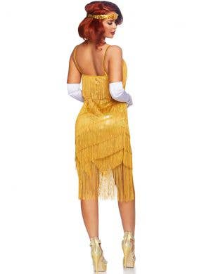 Dazzling Daisy Women's Gold 1920's Flapper Costume