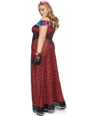 Deluxe Day of the Dead Women's Plus Size Costume