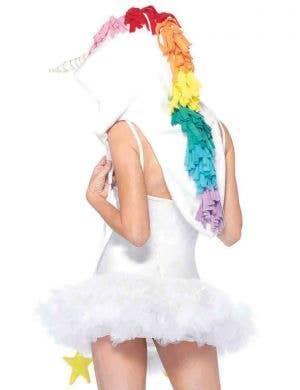 Magical Unicorn Fleece Hood Costume Accessory
