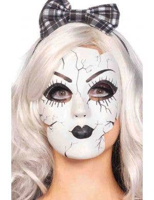 Porcelain Doll Women's Halloween Costume Mask