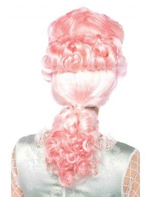 French Queen Women's Powder Pink Deluxe Wig