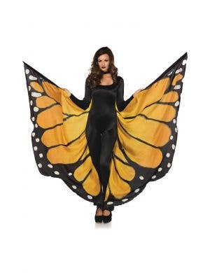 Festival Monarch Butterfly Wing Cape Costume Accessory
