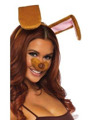Snapchat Doggie Adult's Dog Costume Accessory Kit