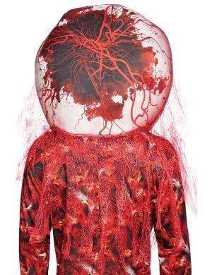 Creepy Adult's Bloodshot Eyeball Halloween Costume Accessory