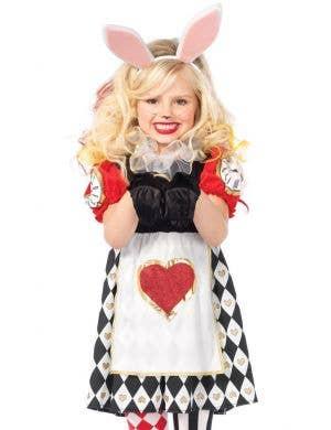 Wonderland Rabbit Girl's Fancy Dress Costume