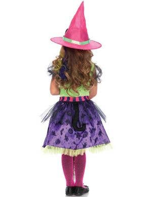 Cat Witch Girl's Halloween Fancy Dress Costume