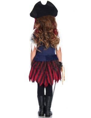Carribean Pirate Girls Fancy Dress Costume