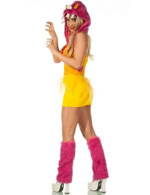Shaggy Monster Sexy Women's Halloween Costume