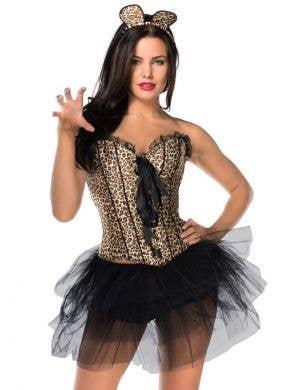Burlesque Leopard Women's Sexy Costume