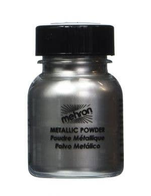 Mehron Metallic Silver Powder Makeup - 14g
