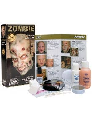 Professional Zombie Makeup Special FX Kit