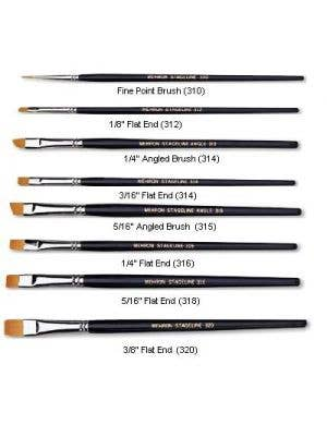 Make-Up Brush - Stageline Fine Point