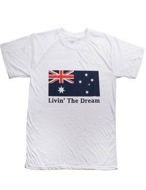 Livin' The Dream Australia Day T-Shirt