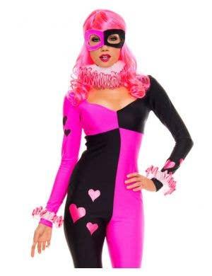 Heart Striking Harley Sexy Harlequin Costume