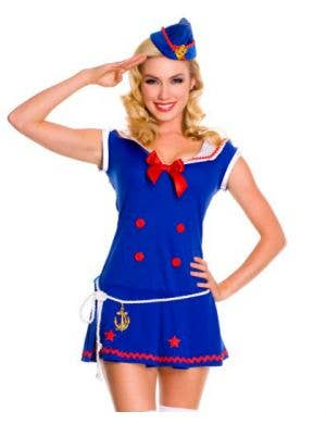 Sassy Sailor Sexy Women's Costume