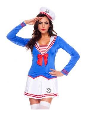 Anchors Away Sexy Women's Sailor Costume