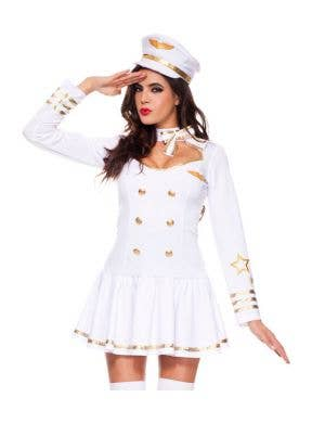 First Class Air Crew Sexy Women's Costume