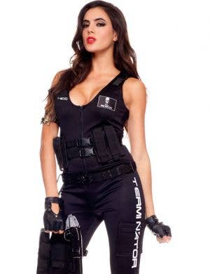 I'll Be Back Babe Sexy Women's Terminator Costume