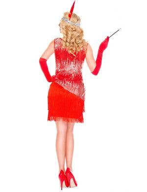 Fearless Red Flapper Sexy Women's Costume