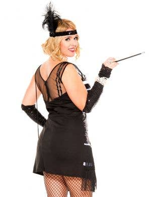 Flapper Fever Plus Size Women's Gatsby Costume