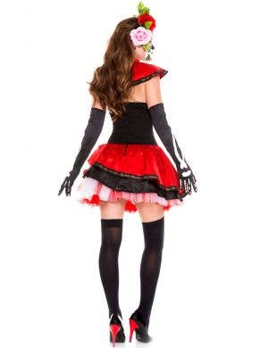 Miss Muerta Women's Sugar Skull Costume