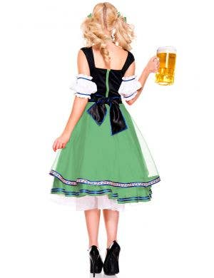 Oktoberfest Green Beer Girl Deluxe Women's Costume